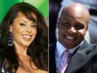 Barry Bonds and Kimberly Bell