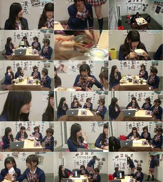 (TV-Variety)(720p) YNN [NMB48チャンネル] ドラフト生生会議 150417