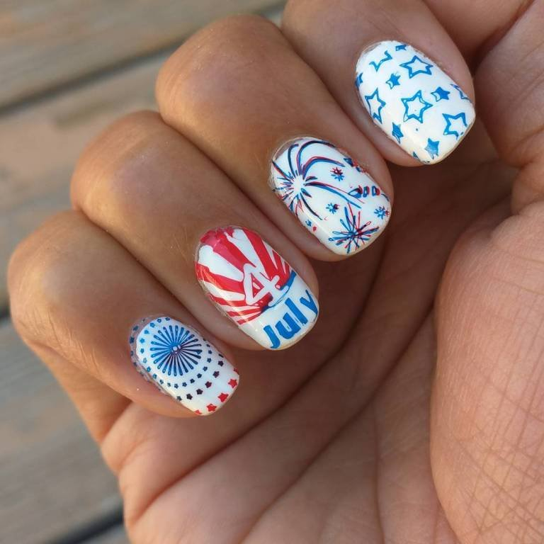 The Best 4th July Nail Art Designs - Styles 2d