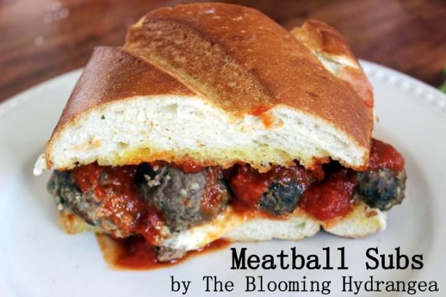 meatballs, meatball subs