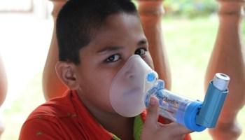 rawantan serangan asma dengan mengunakan aerochamber