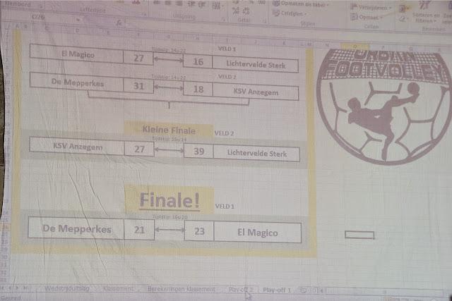 El Magico won finale Urban footvolley Roeselare