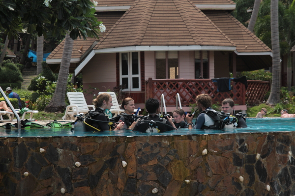getting scuba certified in ko tao thailand