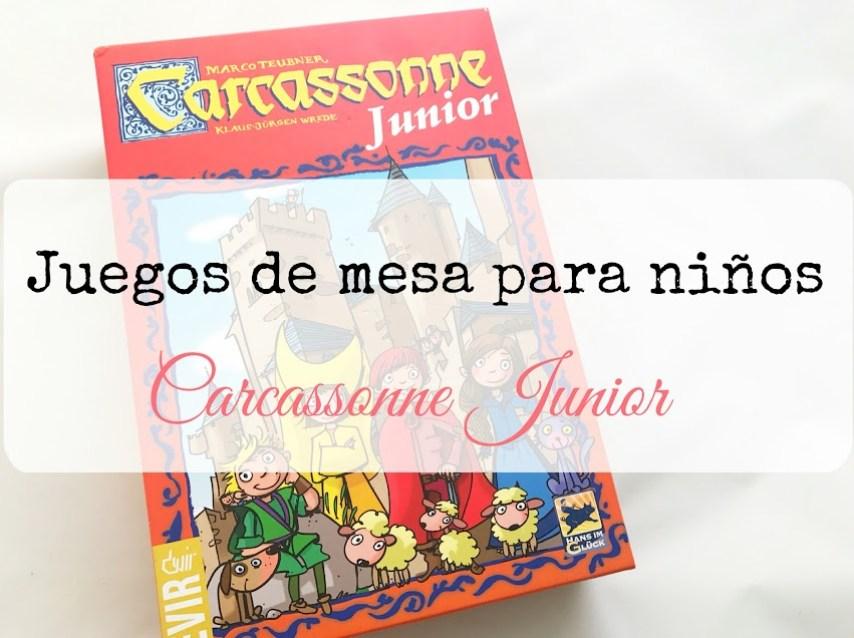 juegos de mesa para niños, carcassonne junior