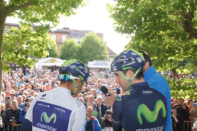 Quintana en Castroviejo op podium