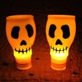 diy skull luminaires for halloween 2016