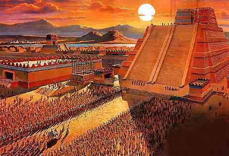 Ciudadesantiguas Los Primeros Pueblos De Tenochtitlan