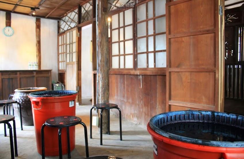 台南墨林文物館,藍染熊手作坊-6