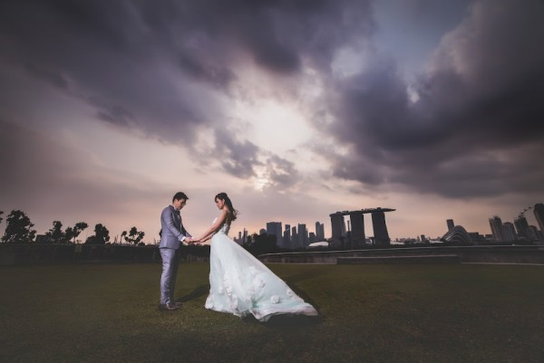 Marina Barrage Wedding