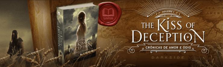 DarkSide Books lança mais um romance sombrio de cair o queixo, The Kiss of Deception tem capa dura e acabamento de luxo