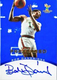 12/13 Panini Preferred Bob Dandridge Blue Auto