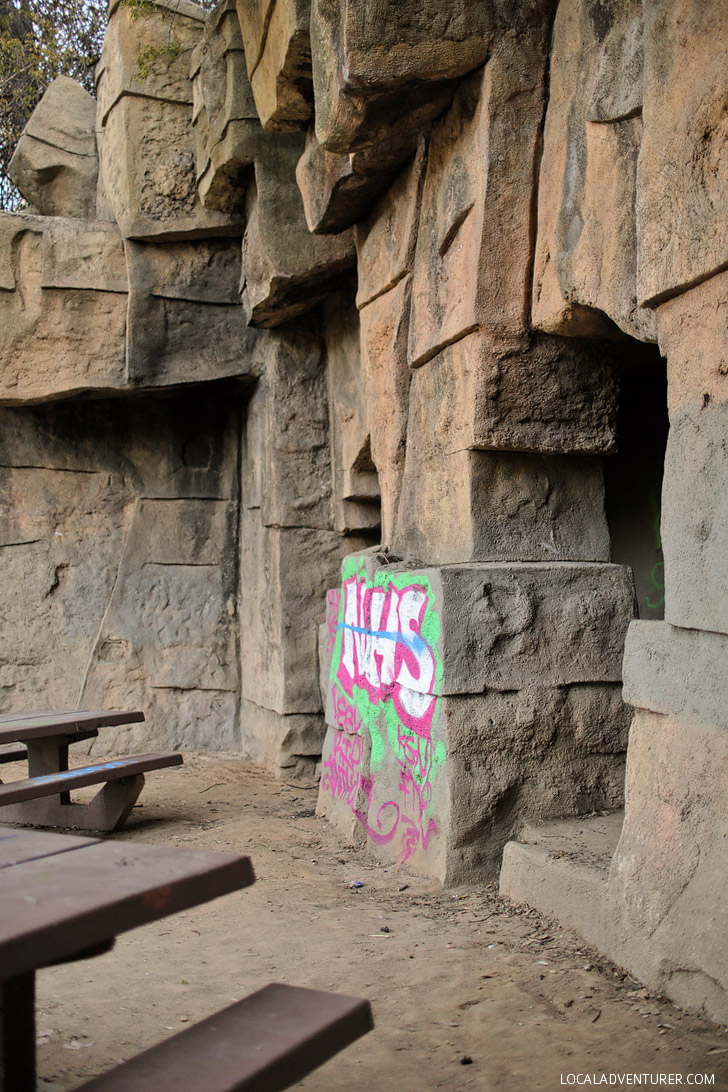 The Old LA Zoo Griffit...