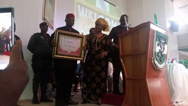 Ohakim,Pete Edochie,Jim Iyke,Others At Chinua Achebe's Lecture In Enugu