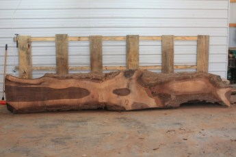 Walnut 221-1  Length 15' Max Width (inches) 32 Min Width (inches) 4 Notes 10/4 Kiln Dried