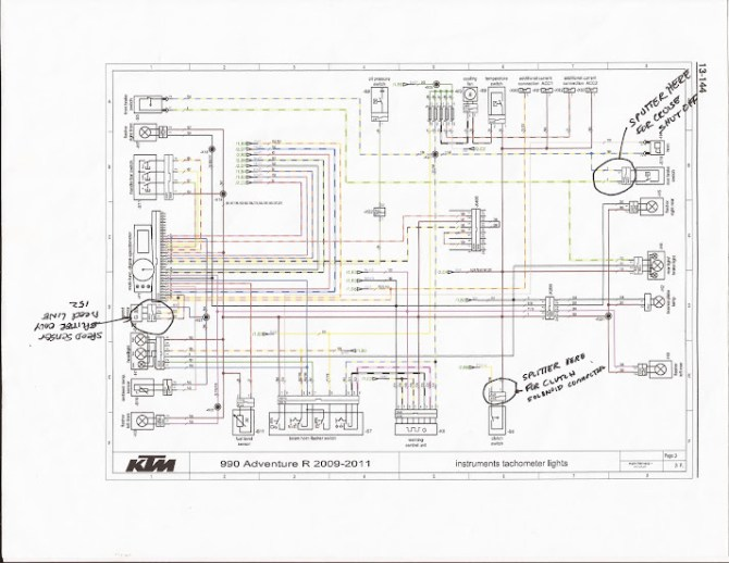 grafik ktm 500 exc wiring diagram full hd  grafikerdergisi