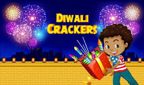 Diwali Crackers and Magic Touch Fire works App for child
