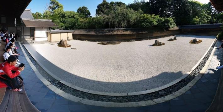 Qué ver en Kioto. Templo Ryōan-ji y su jardín seco