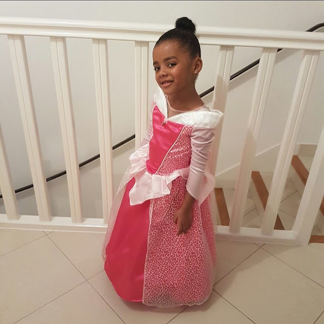 Daughter of Andre Ayew