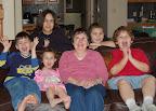 Mar, 2007 - Grandma Blair with the kids