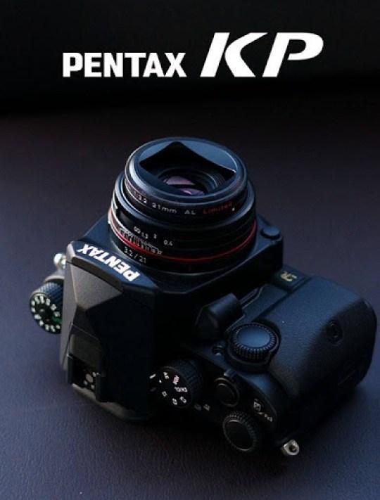 The Pentax KP DSLR camera at Don's Photo