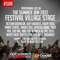 Hot 97 Release #SJXX Festival Stage Lineup (@hot97)