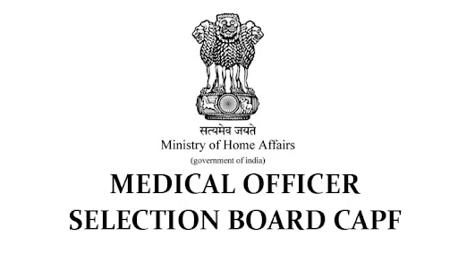 Medical Officer Selection Board (MOSB) Recruitment