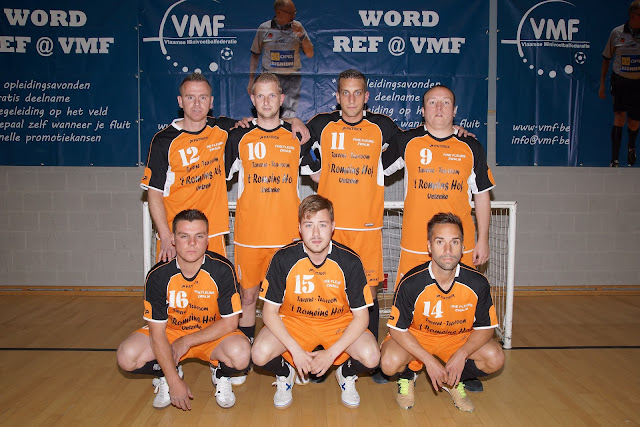 Minivoetbalclub Zwalm uit de kerncompetitie VMF