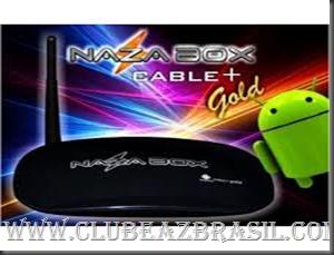 ATUALIZAÇÃO NAZABOX   CABLE GOLD V1.0.0.27