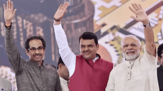 08e21e2d2b08ab1c10663495992d2237 Game of credit claiming? Before Fadnavis met PM, Sena sent midnight letter listing pending projects