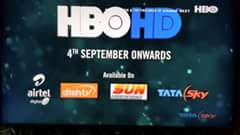 HBO HD to launch on 4 September After receiving approval from the Ministry of Information and Broadcasting (MIB) 1