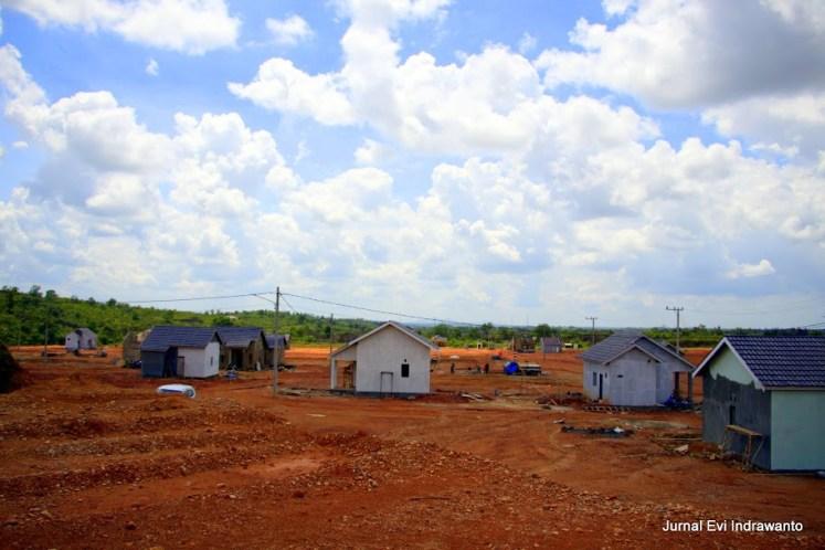 Progres pembangunan Perumahan Graha Praja Idaman bulan Desember 2014