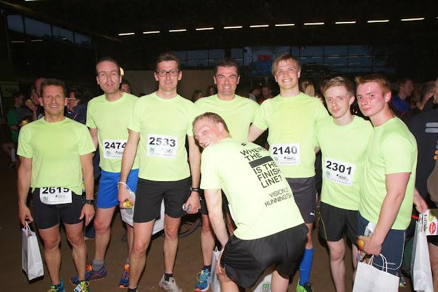 Vision 21 running team