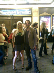 After the show.  Constantine was sick  :(