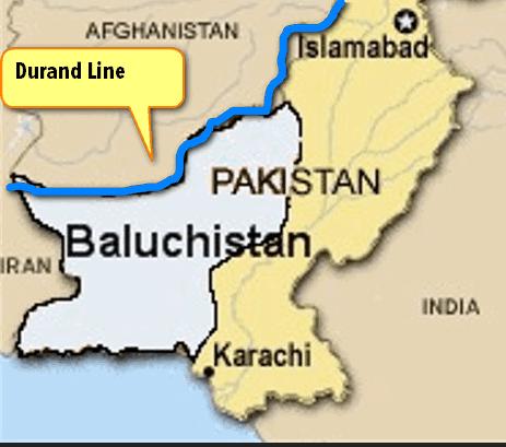Baluchistan Durand Line