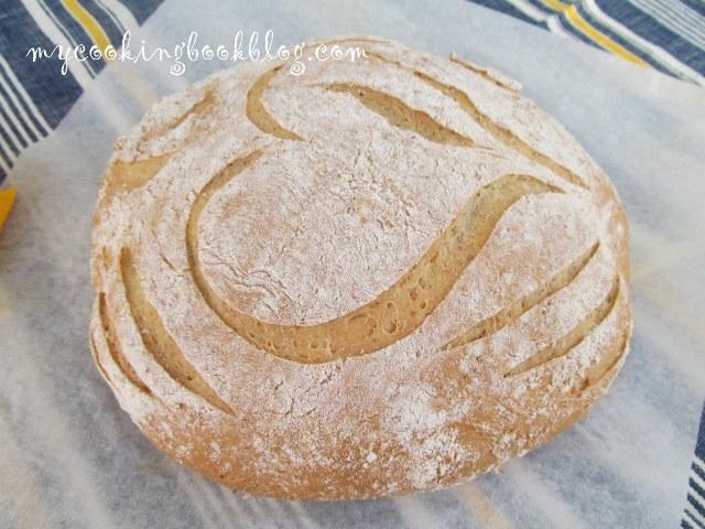Селски млечен хляб с три вида брашно