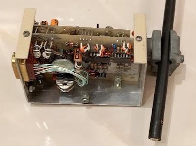Internal a transceiver box. The