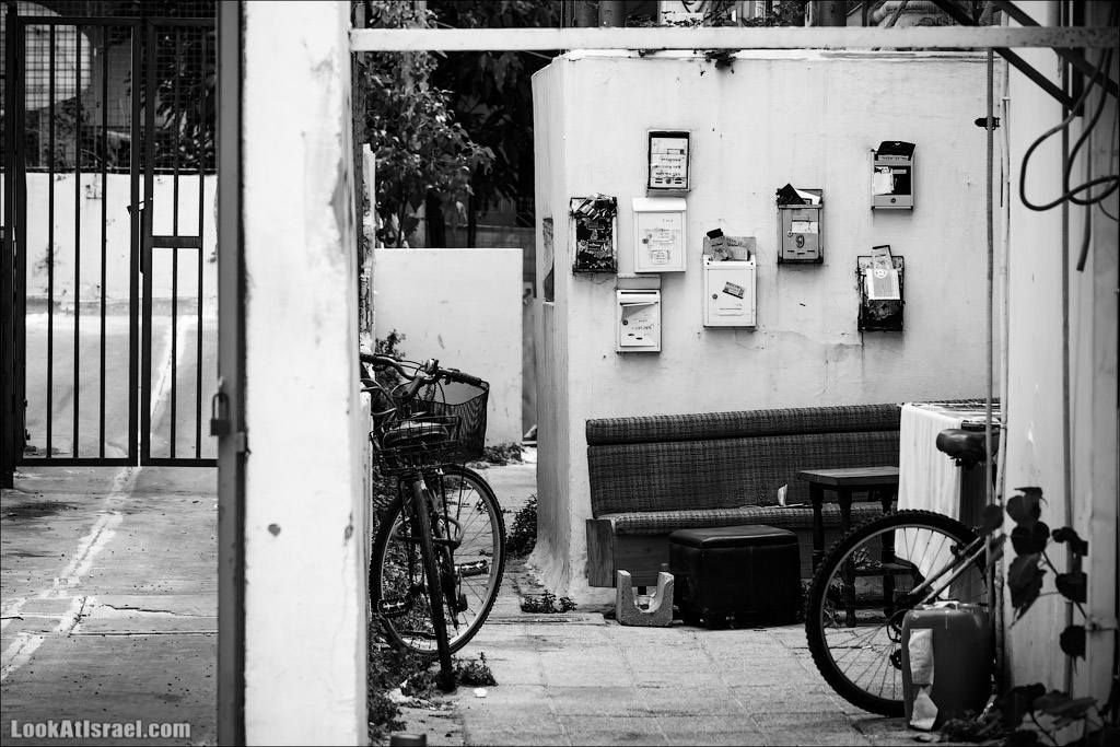 Черно-белый Тель-Авив   Black and white Tel-Aviv   LookAtIsrael.com - Фото путешествия по Израилю