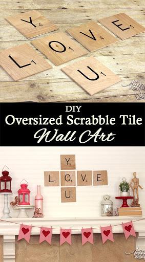 scrabble tile love you valentine s