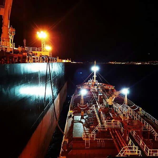 Ship Bunkering operation