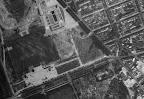 Luftaufnahme des Waldstraßenviertels aus dem Jahr 1953 - Südwest