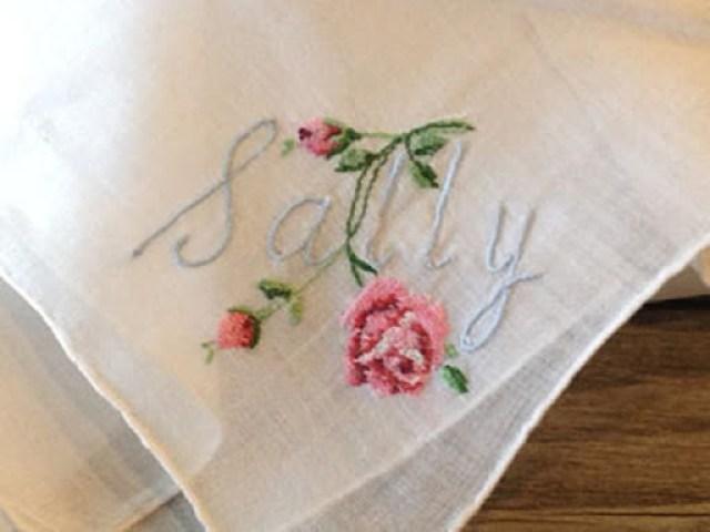 Embroidered Handerchief