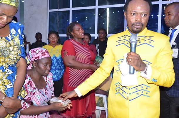 Bro. Joshua Iginla gives N23m to widows as he celebrates his birthday(Photos)
