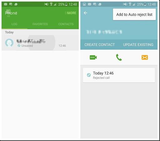 cara memblokir panggilan dengan android lolipop