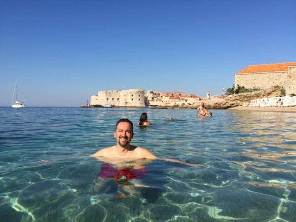 playa banje dubrovnik croacia