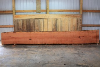 Cherry 330-5  Length 20', Max Width (inches) 33 Min Width (inches) 29 Thickness 10/4  Notes : Kiln Dried