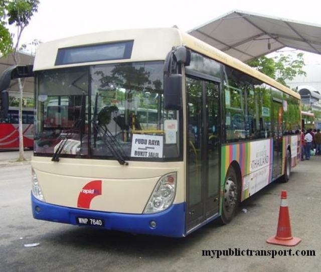 Rapidkl Shuttle Bus Park At Bukit Jalil Terminal