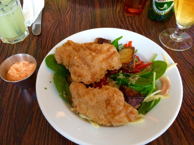 Icelandic fish and chips on Iceland food and drink