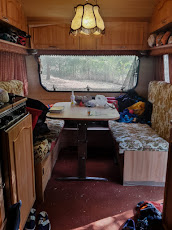 Our caravan home for a few days