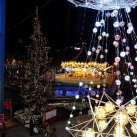 Tokyo Dome City: illuminaatio ja Muumikahvila
