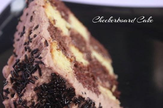 Checkerboard Cake4